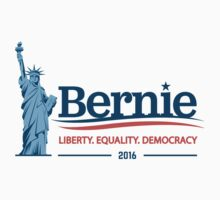 Bernie Sanders - Liberty. Equality. Democracy. Kids Tee