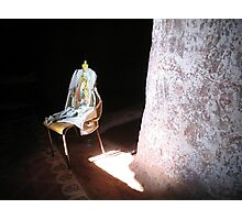 Mary On A Chair Photographic Print