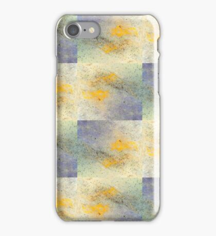 Eye-catching ink design pattern for large wall art and textile prints iPhone Case/Skin