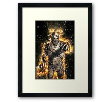 Doctor Who Exploding Cyberman Framed Print