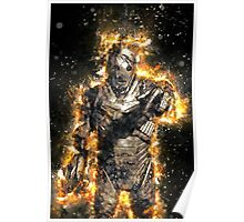 Doctor Who Exploding Cyberman Poster