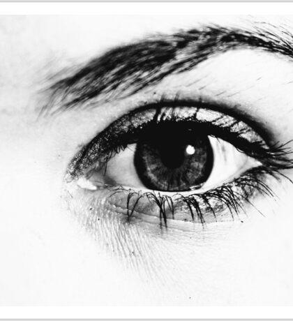 Eye. Sticker
