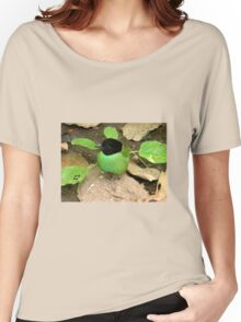The green breasted bird.  Women's Relaxed Fit T-Shirt