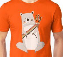 Cartoon Animals Tribal Bear With Arrows Unisex T-Shirt