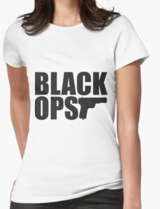 BLACK OPS Womens Fitted T-Shirt