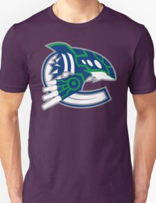 NHL / Pokemon - Vancouver Canucks Kyogre T-Shirt