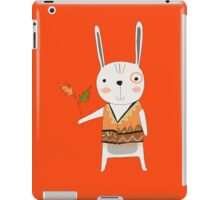 Cartoon Animals Tribal Bunny Rabbit iPad Case/Skin