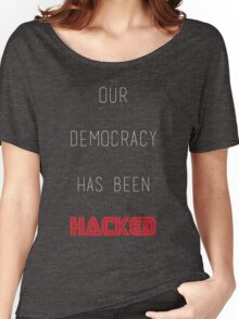 Mr Robot - Hacked Women's Relaxed Fit T-Shirt
