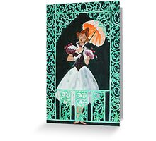 Tightrope Walk - The Haunted Mansion Greeting Card
