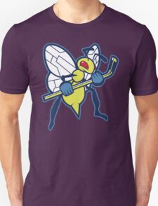 NHL / Pokemon - Columbus Blue Jacket Beedrill T-Shirt