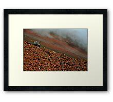 Terrific Terrain Framed Print