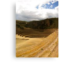 Incan Agriculture Canvas Print