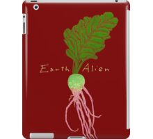 Earth Alien Watermelon Radish iPad Case/Skin