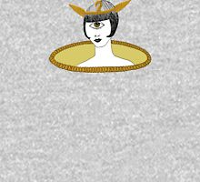 Cyclops Louise Brooks as Egyptian Valkyrie with All-Seeing Eye Women's Fitted Scoop T-Shirt