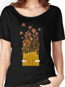 Psychedelic flower power Women's Relaxed Fit T-Shirt