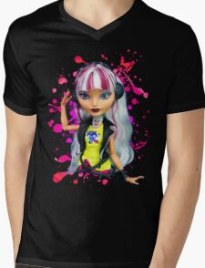Melody Piper Mens V-Neck T-Shirt