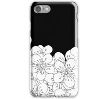 Cherry Blossom Boarder iPhone Case/Skin