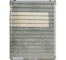 Grey and tan iPad Case/Skin