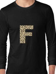 Leopard F Long Sleeve T-Shirt