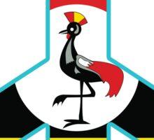 Uganda Peace Symbol Sticker