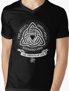 Malarkey - Sarcasm - Shenanigans Mens V-Neck T-Shirt