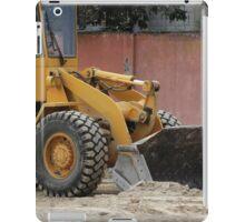 Heavy Construction Equipment iPad Case/Skin