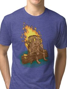 Bad Day Log Tri-blend T-Shirt