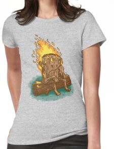Bad Day Log Womens Fitted T-Shirt
