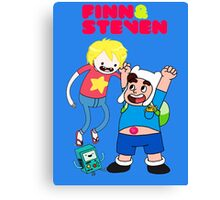 Adventure Time Finn & Steven Canvas Print