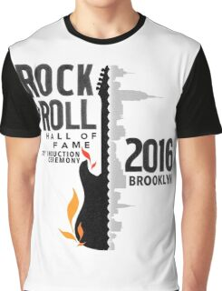 Rock Hall 2016 Rock & Roll Hall of Fame Graphic T-Shirt