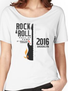 Rock Hall 2016 Rock & Roll Hall of Fame Women's Relaxed Fit T-Shirt