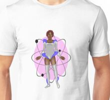 Silver Space Babe Unisex T-Shirt