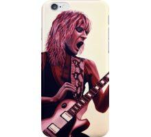 Randy Rhoads painting iPhone Case/Skin