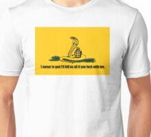 DON'T TREAD ON ME FLAG SHIRT YESSSS Unisex T-Shirt