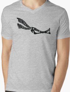 Raphael TMNT Black Mens V-Neck T-Shirt