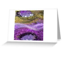 Purple Ways Greeting Card