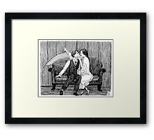 Deadly Distraction Framed Print