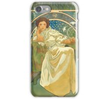 Princezna Nouveau iPhone Case/Skin