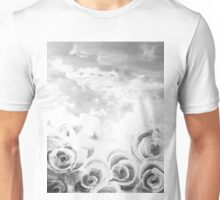 Fading Roses Silver Lining Unisex T-Shirt