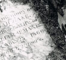 Tombstone  Sticker