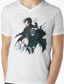 Black Butler Mens V-Neck T-Shirt