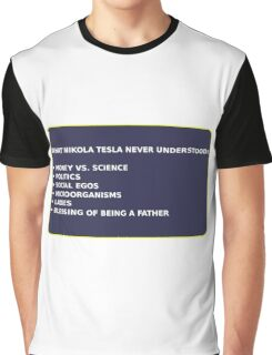 Science - Tesla Graphic T-Shirt