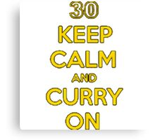 curry on! Canvas Print