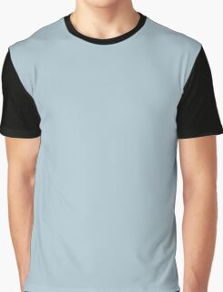 Pastel Blue  Graphic T-Shirt
