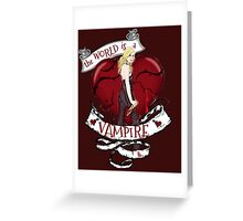 Buffy With Butterfly Wings Greeting Card