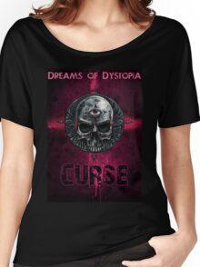 "Dreams of Dystopia Fan Shirt ""Curse"" Women's Relaxed Fit T-Shirt"