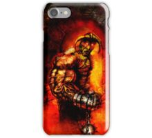 The Devil's Henchman iPhone Case/Skin