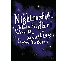Nightmare Night Photographic Print