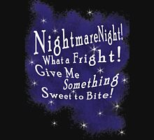 Nightmare Night Womens Fitted T-Shirt