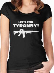 Lets End Tyranny Women's Fitted Scoop T-Shirt